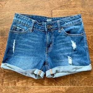 BDG Alexa Five Pocket Blue Jean Shorts Size 24